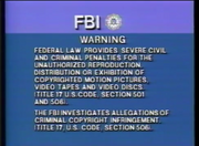 Sony Pictures FBI Warning Screen