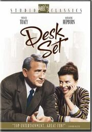 Desk Set 2004 DVD Cover