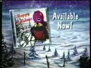 Happy Holidays Love Barney CD Promo