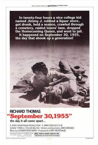 File:1977 - September 30, 1955 Movie Poster.jpg