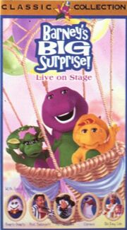 Barney's Big Surprise VHS Cover