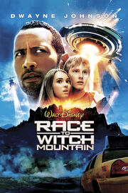 Race-to-witch-mountain-poster-artwork-dwayne-johnson-annasophia-robb-carla-gugino