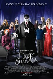2012 - Dark Shadows Movie Poster