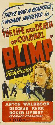 1943 - The Life and Death of Colonel Blimp Movie Poster