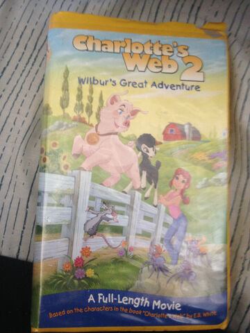 File:Charlottes Web 2 Wilburs Great Adventure VHS.jpg