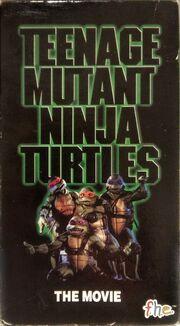 Teenage Mutant Ninja Turtles VHS
