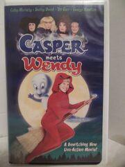 Casper Meets Wendy VHS Tape