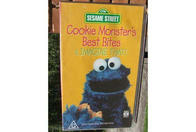 File:Cookie Monsters Best Bites Australian VHS.jpg