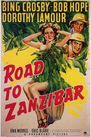 1941 - Road to Zanzibar Movie Poster