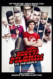 2010 - Scott Pilgrim vs. the World Movie Poster