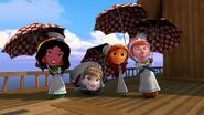 Ladies singing about no rain