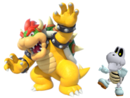 Bowser and Dry bones