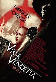 2006 - V for Vendetta Movie Poster