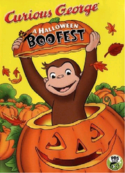 Curious George Halloween Boo Fest 2005 VHS