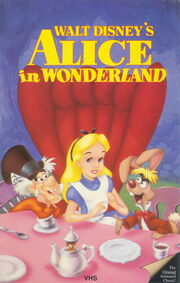 Alice in Wonderland on VHS