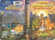 Land Before Time 2 VHS Cover
