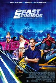 2003 - 2 Fast 2 Furious Movie Poster
