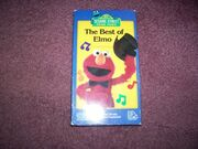 The Best of Elmo VHS