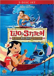 Lilo & stitch 2-disc big wave edition dvd