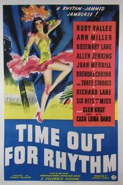 1941 - Time Out for Rhythm Movie Poster