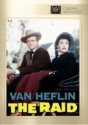 1954 - The Raid DVD Cover (2012 Fox Cinema Archives)