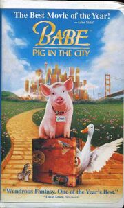 Babe pig in the city VHS