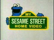 My sesame street home video logo