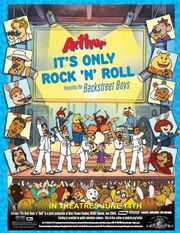 Arthur Its Only Rock N Roll 2002 Theatrical Poster