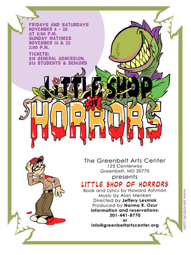 Little Shop of Horrors Poster by kevinbolk