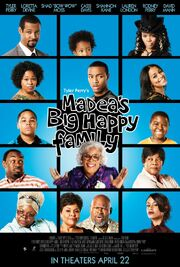 2011 - Madea's Big Happy Family Movie Poster