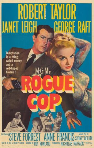 File:1954 - Rogue Cop Movie Poster.jpg