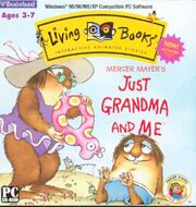 Just Grandma and Me CD-ROM Cover