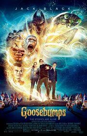 2015 - Goosebumps Movie Poster