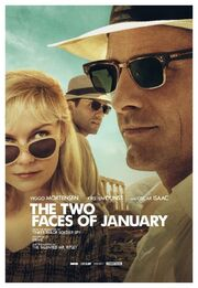 2014 - The Two Faces of January Movie Poster