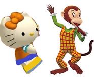 Mimmy and Martha monkey