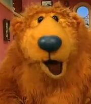 Bear is Voiced by Noel MacNeal from Bear in the Big Blue House