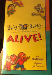 Living Books The Movie VHS