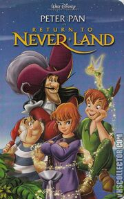 Return To Neverland -VHS-front NEW