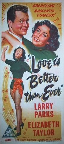 File:1952 - Love is Better Than Ever Movie Poster.jpeg