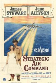 1955 - Strategic Air Command Movie Poster