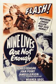 1941 - Nine Lives are Not Enough Movie Poster