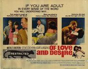 1963 - Of Love and Desire Movie Poster