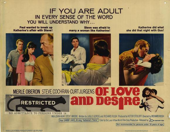 File:1963 - Of Love and Desire Movie Poster.jpg