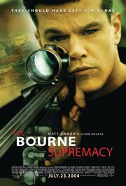 2004 - The Bourne Supermacy Movie Poster