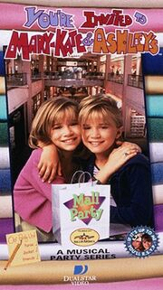 Mary Kate And Ashley Mall Party VHS