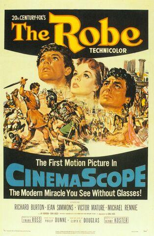File:1953 - The Robe Movie Poster.jpg