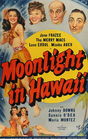 1941 - Moonlight in Hawaii Movie Poster