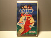 Casper Meets Wendy 1998 VHS Tape