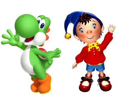 File:Yoshi and Noddy.PNG