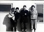 Evy, Lorentz, Olav, Kurt